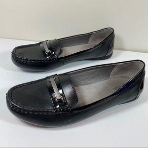 Abella Black Sofia loafer